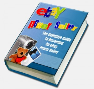 how to sell on ebay and make money book cover - become an ebay power seller and start living a dream